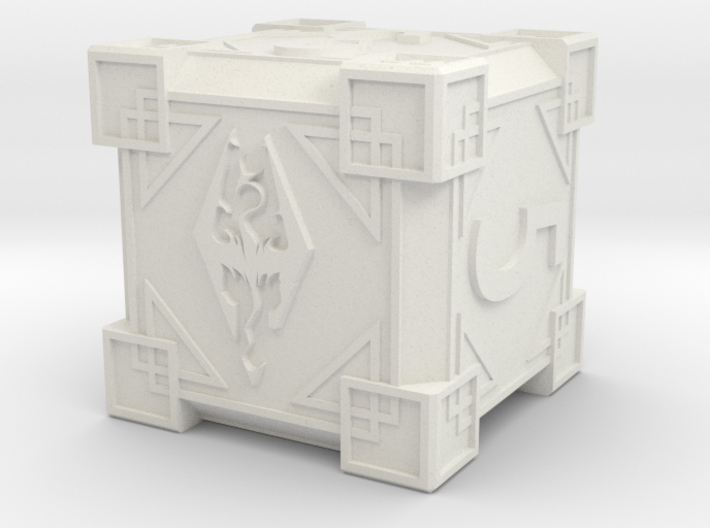 3D Skyrim Dice Preview