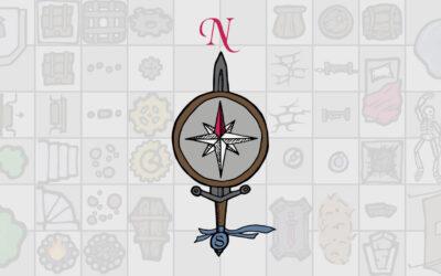 Dungeon Map Doodler Art Stamps