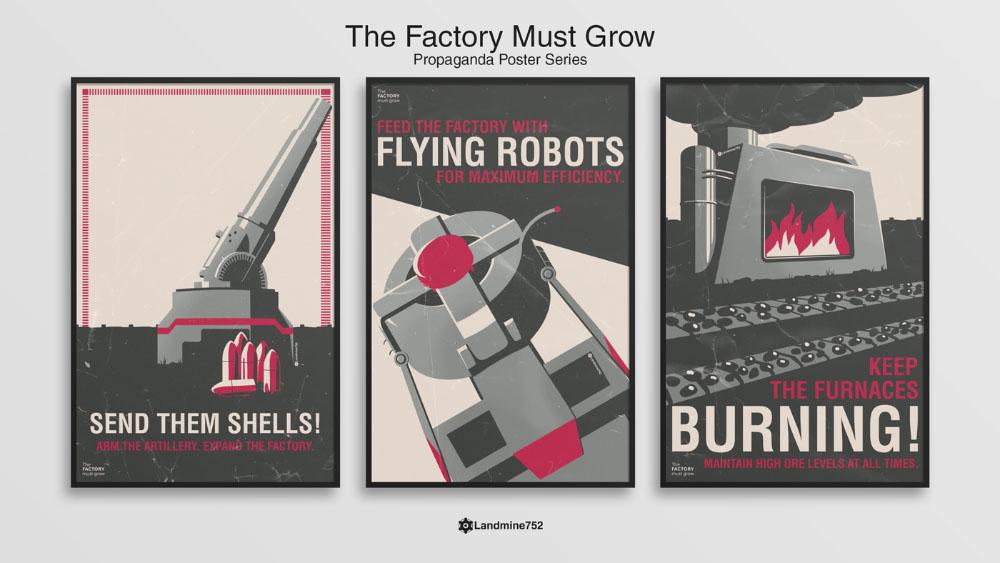 The Factory Must Grow Propaganda